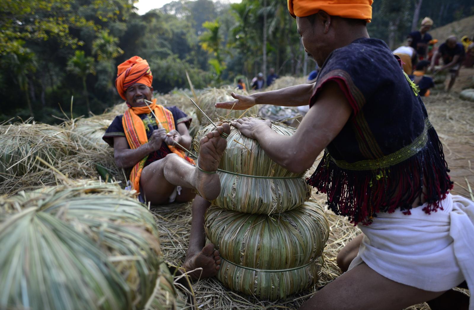 Rolnictwo w Indiach fot. EPA/STR