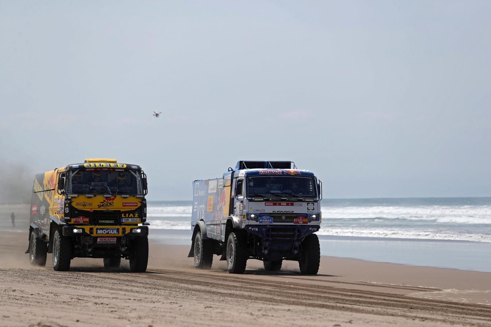 Piąty etap Rajdu Dakar, Peru. Fot. PAP/EPA/Ernesto Arias