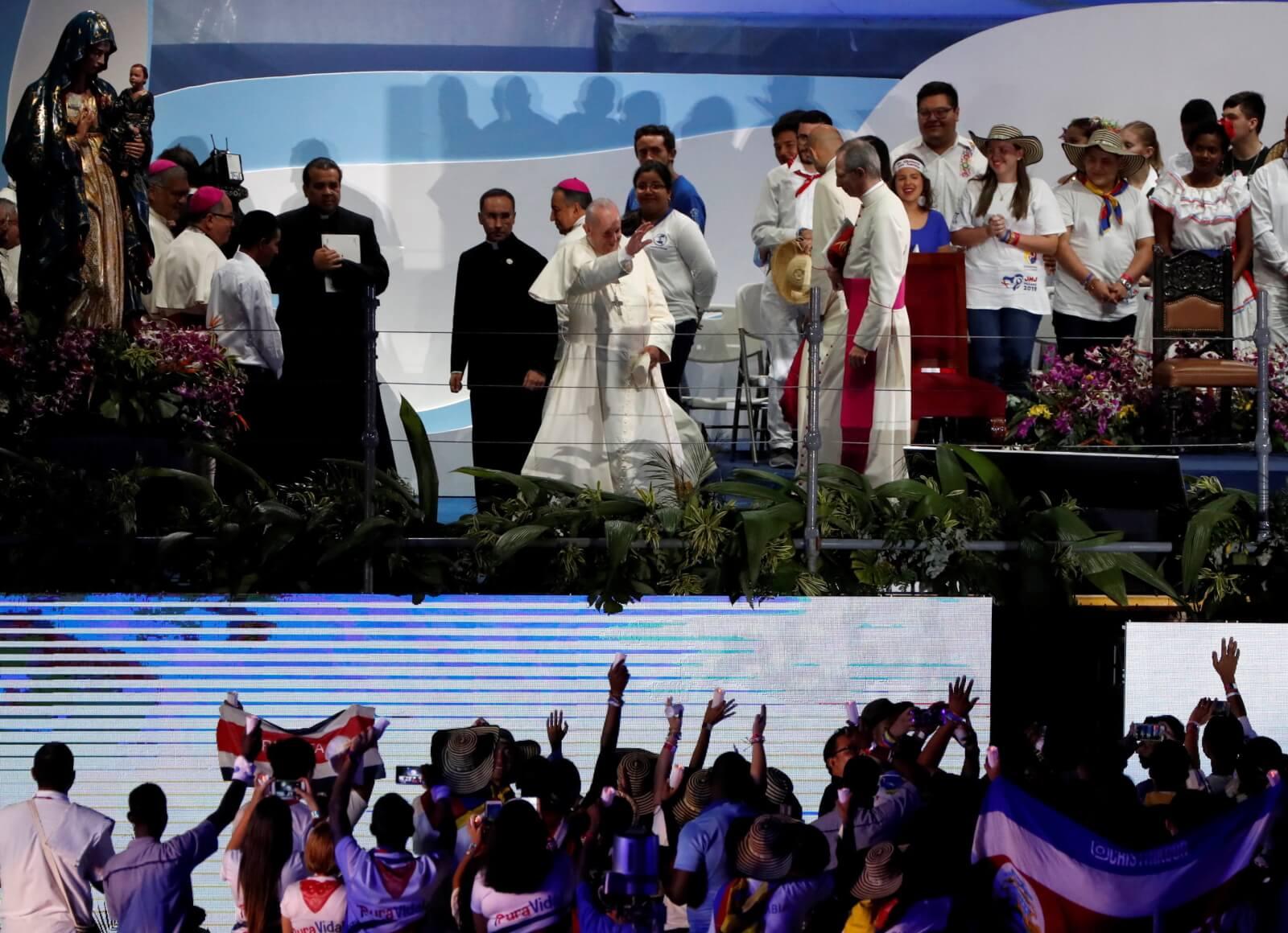 Papież Franciszek droga krzyżowa Panama 2019 Światowe Dni Młodzieży