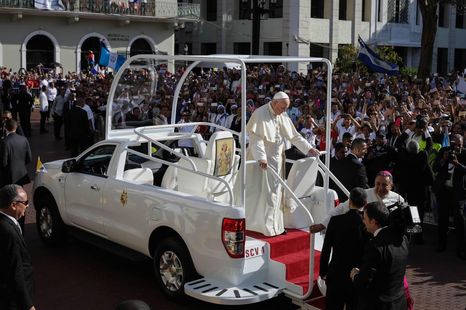 Franciszek, papież Franciszek, Panama, Światowe Dni Młodzieży, #Panama2019