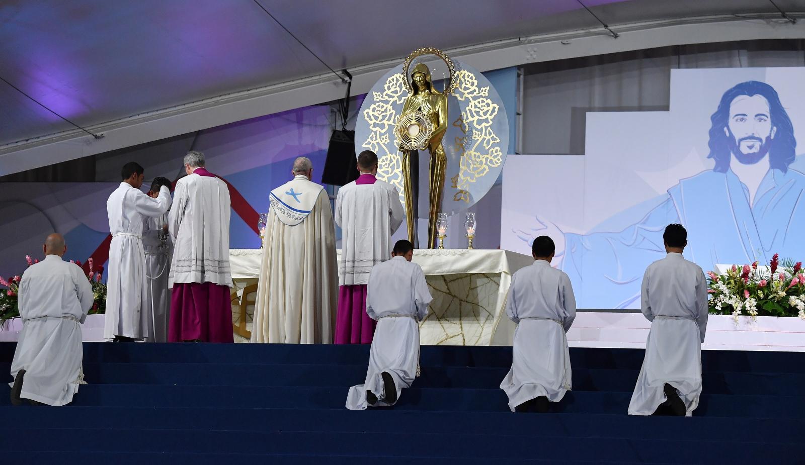 papież franciszek maryja panama