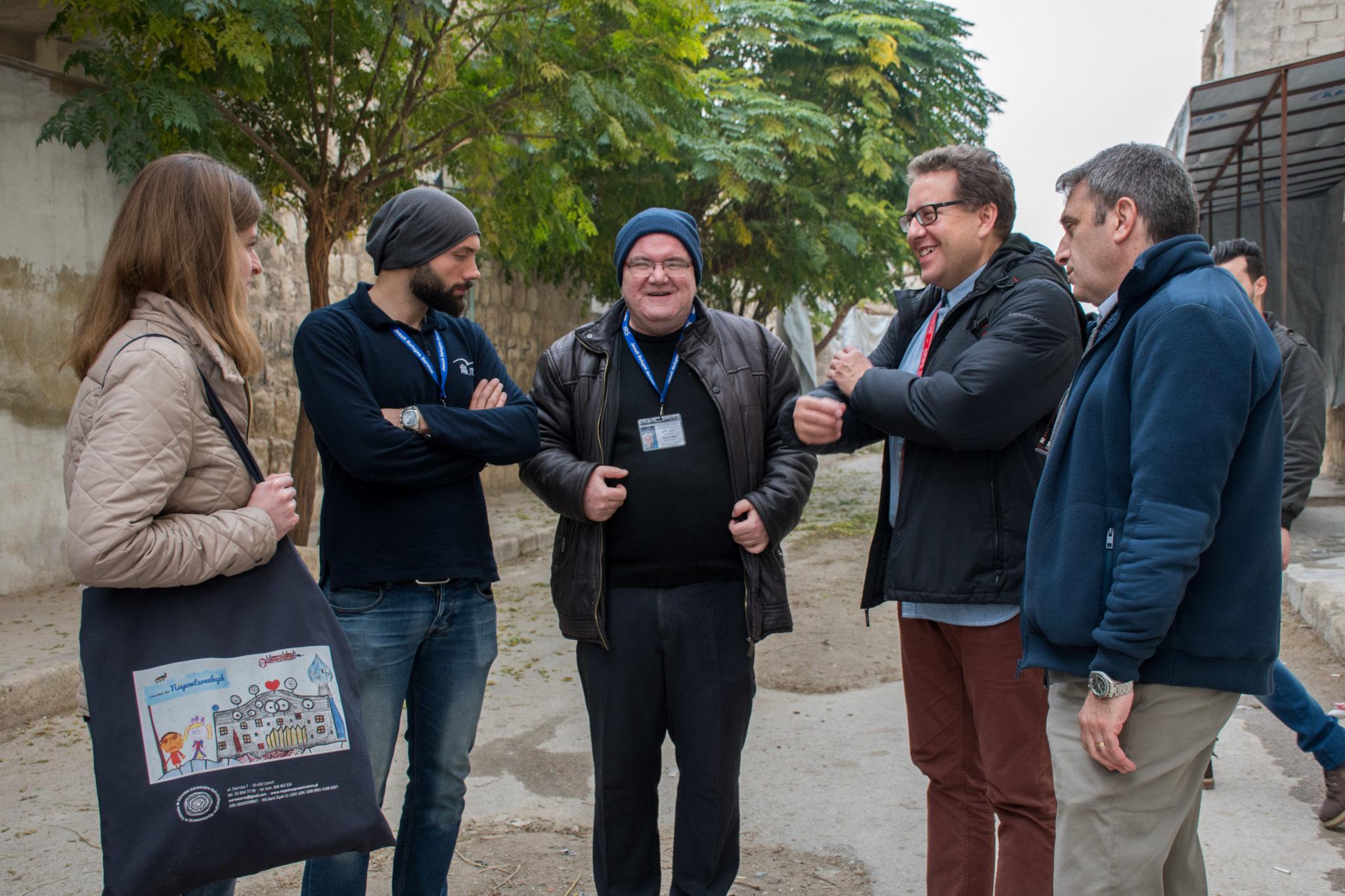 Jesuit Refugee Service, Allepo, Sakhour, misyjne, ks. Sammi Hallak, JRS