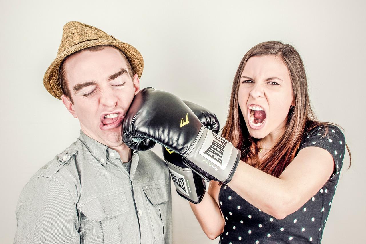 konflikt, kłótnia