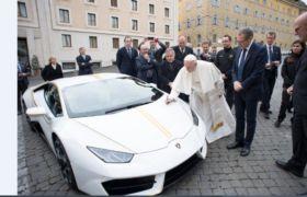 Ojciec Święty przekazał 200 tys. euro Papieskiemu Stowarzyszeniu Pomoc Kościołowi w Potrzebie. Pieniądze pochodzą ze sprzedaży sportowego samochodu Lamborghini