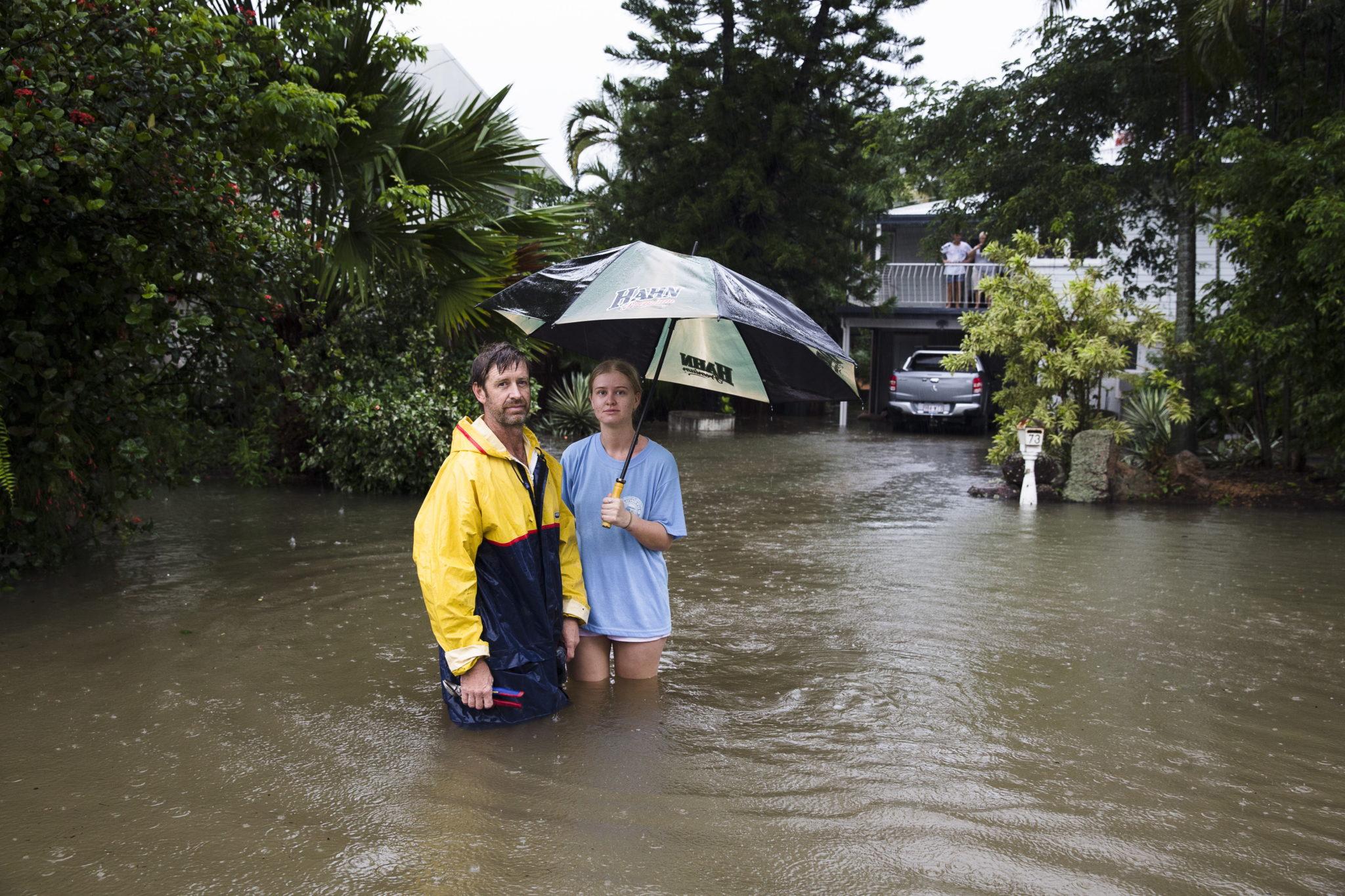 Powodzie, rekordy gorąca, pożary. W Australii pogoda, którą kształtuje wyż znad Morza Tasmańskiego, jest niebezpieczna i powoduje zniszczenia, fot. PAP/EPA