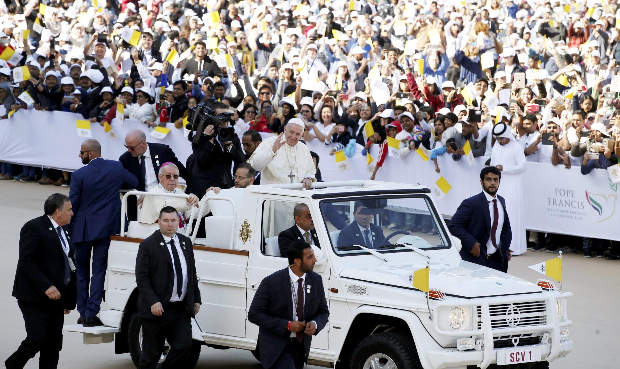 papież w abu zabi