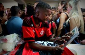 Brazylia Flamengo Rio piłkarze misyjne