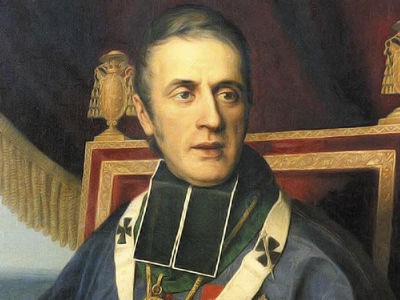7 lutego 1826 roku Kościół uznał dzieło Eugeniusza de Mazenoda, jakim była Kontystucja i Reguły Zgromadzenia Misjonarzy Oblatów Maryi Niepokalanej.