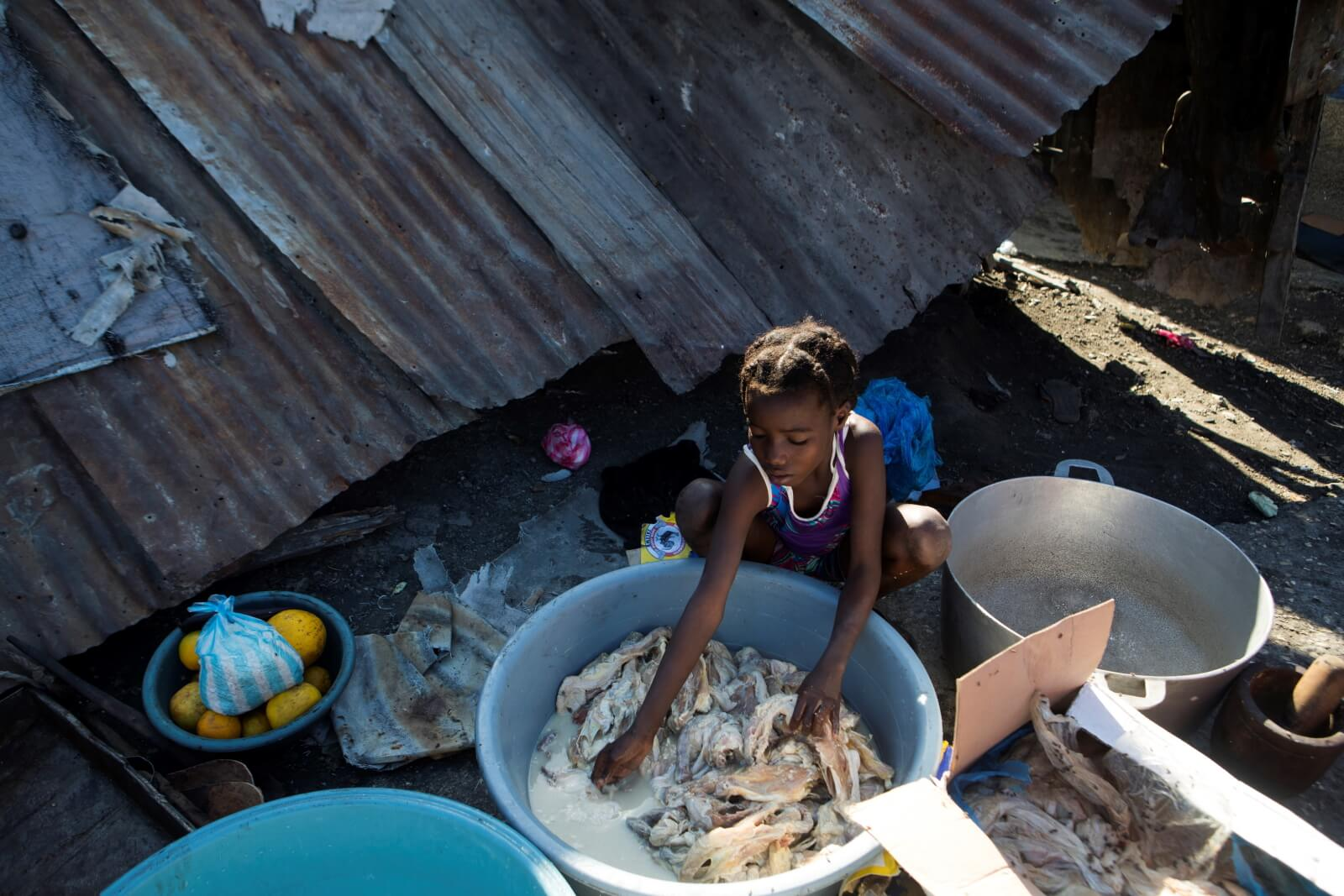 Kryzys na Haiti fot. EPA/ORLADO BARRIA