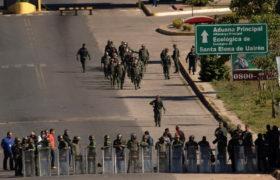 wojsko, wenezuela, pomoc humanitarna