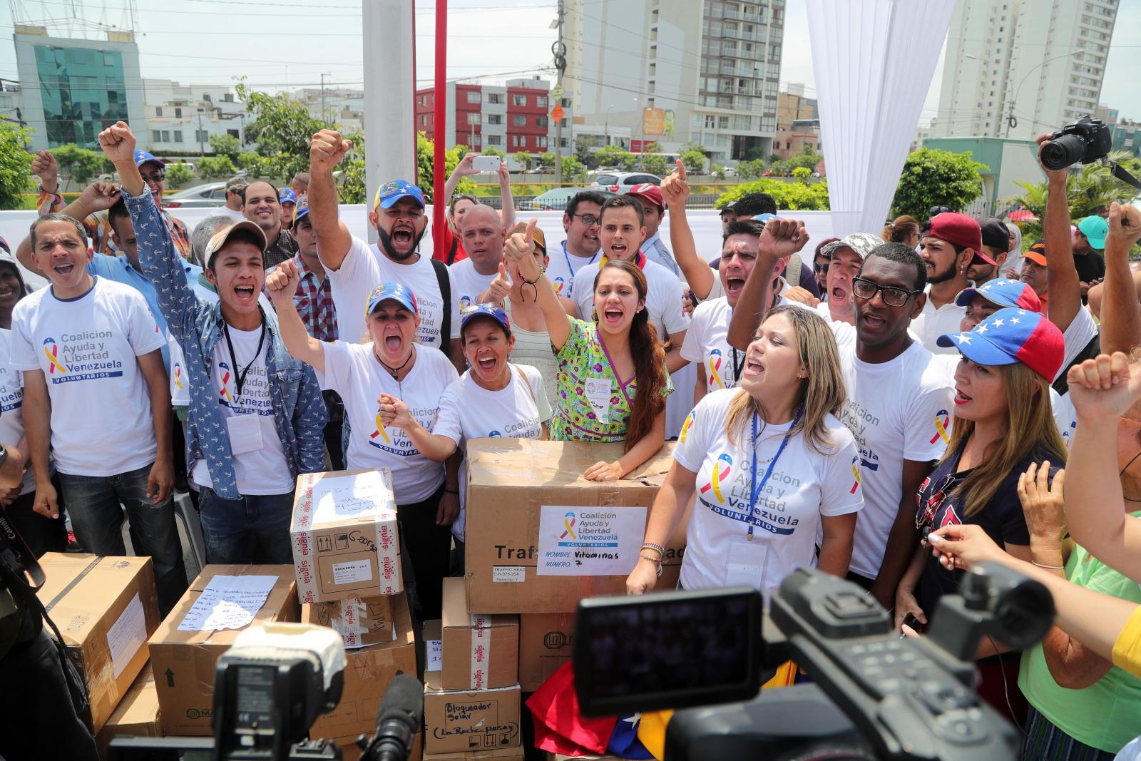Wenezuela, uchodźcy polityczni