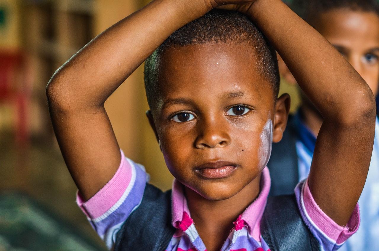 afrykańskie dziecko