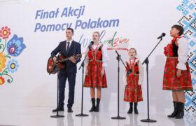 III edycja Akcji Pomocy Polakom ze Wschodu. Prezydent Andrzej Duda brał udział w uroczystości finału Akcji.
