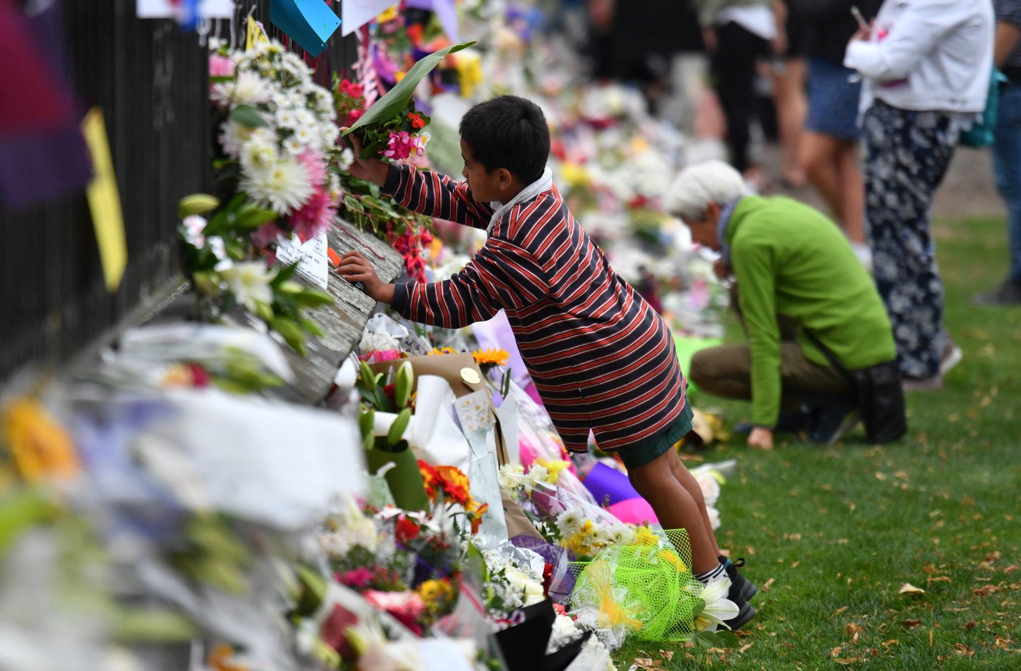Nowa Zelandia, mieszkańcy Christchurch, fot. MICK TSIKAS, PAP/EPA