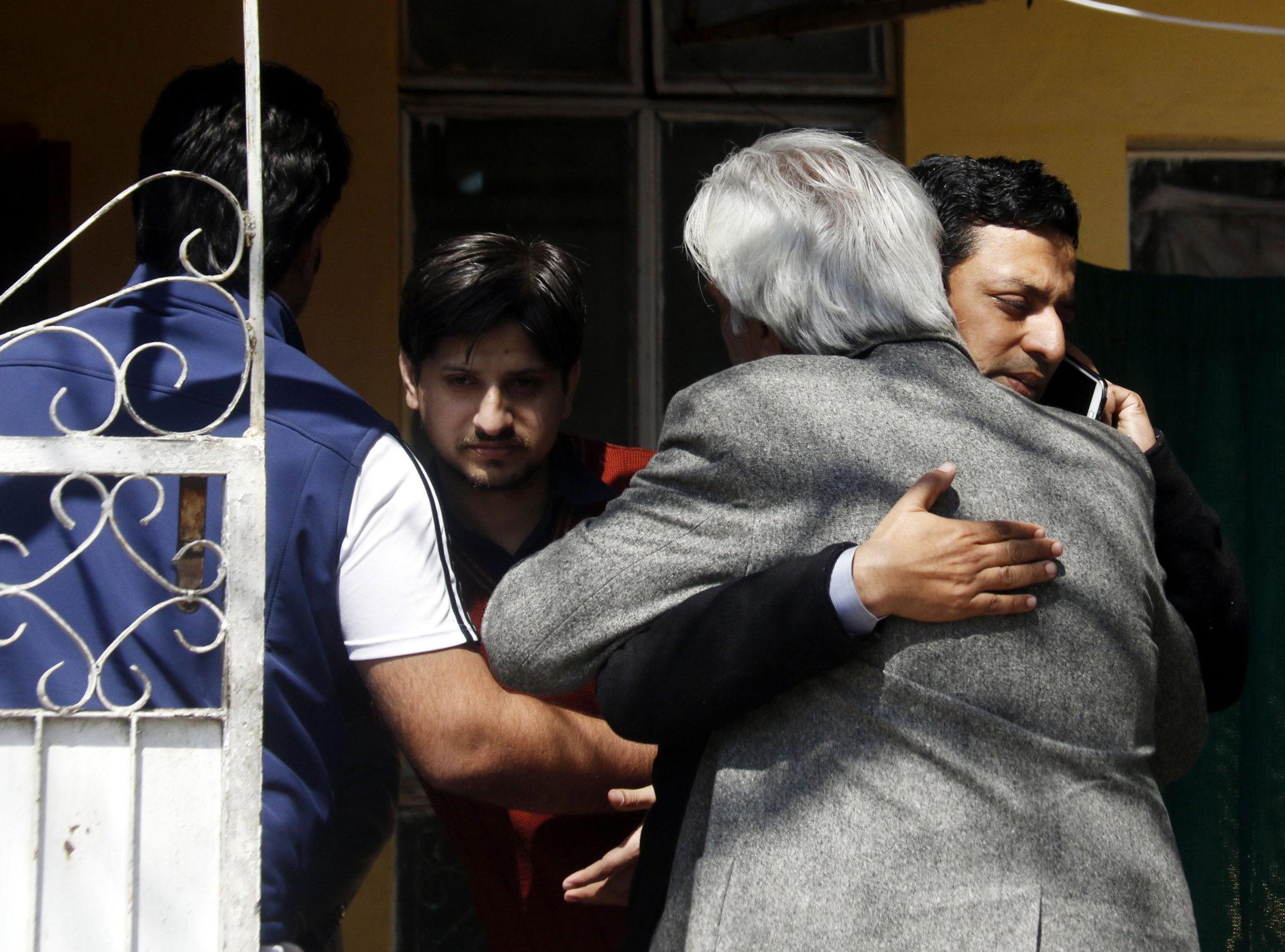 Pakistan: kondolencje dla rodzin ofiary zamachu w meczecie w Christchurch. W zamachach zginęło 6 obywateli Pakistanu, fot. Sohail Shahzad, PAP/EPA