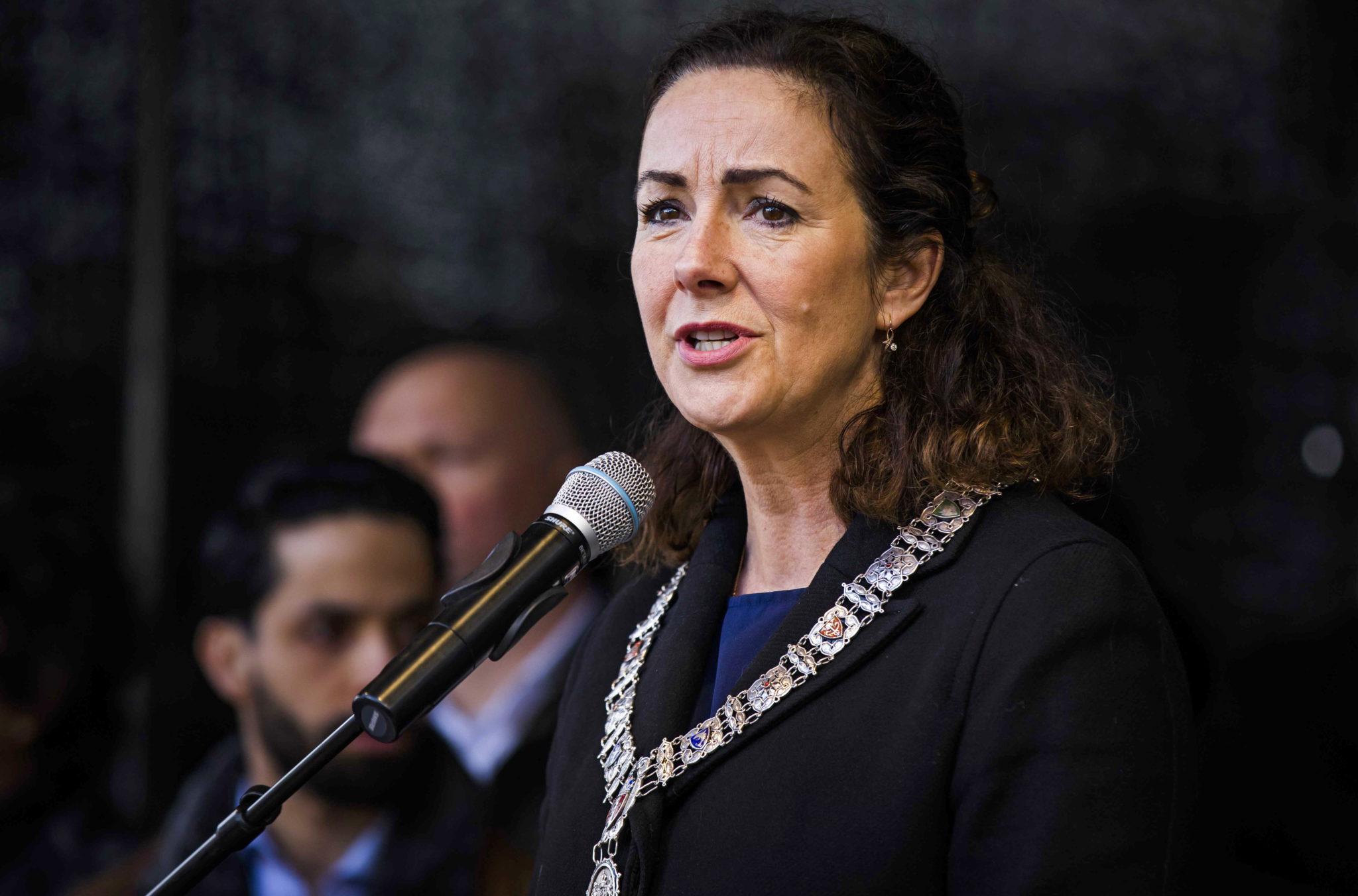 Holandia: burmistrz Amsterdamu Femke Halsema, fot. Bart Maat, PAP/EPA