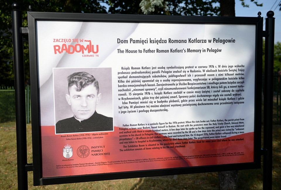 Rozmawa z postulatorem procesu beatyfikacyjnego ks. Romana Kotlarza, Klecha, ks. Edmund Poniewierski, kuria Radom