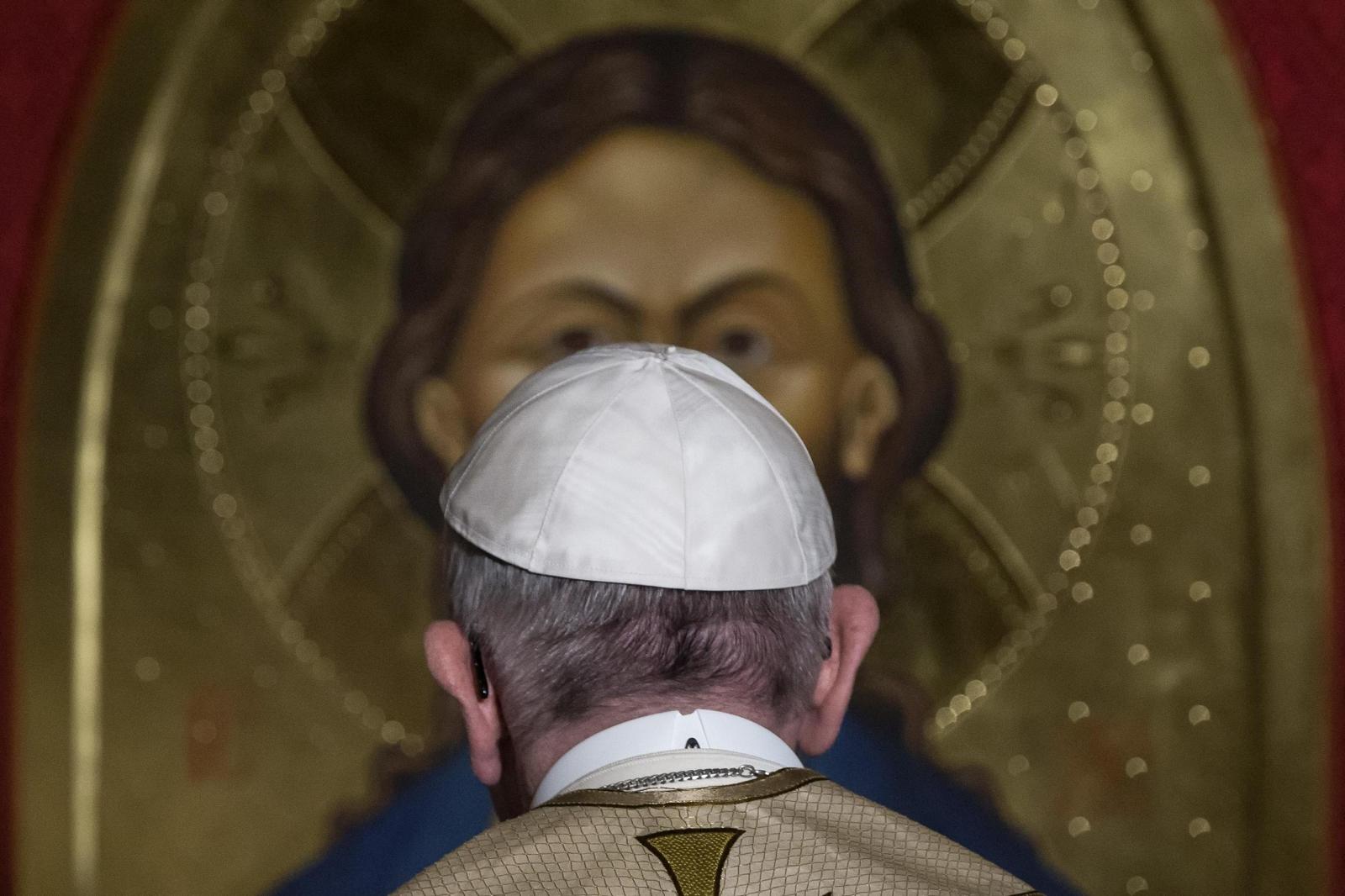 papież franciszek Jezus