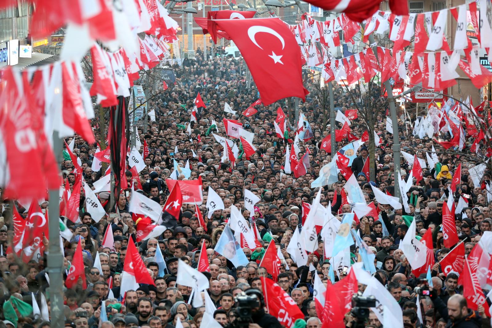 Wybory w Turcji fot. EPA/ERDEM SAHIN