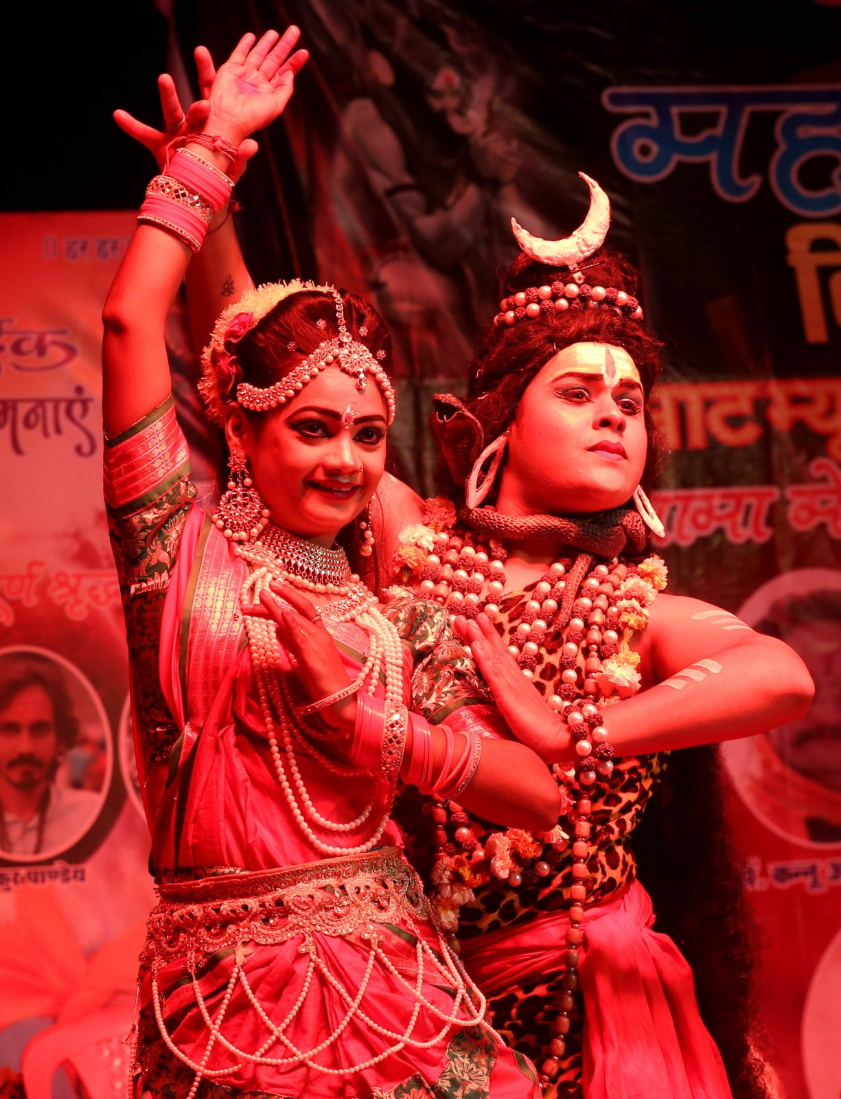 Festiwal SHIVRATRI w Indiach fot. EPA/SANJEEV GUPTA