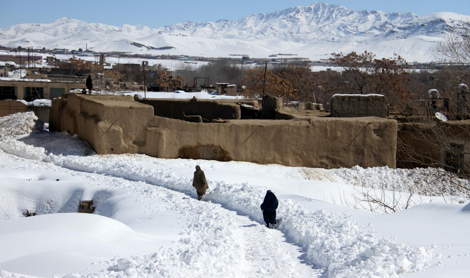 Afganistan fot. EPA/GHULAM MUSTAFA