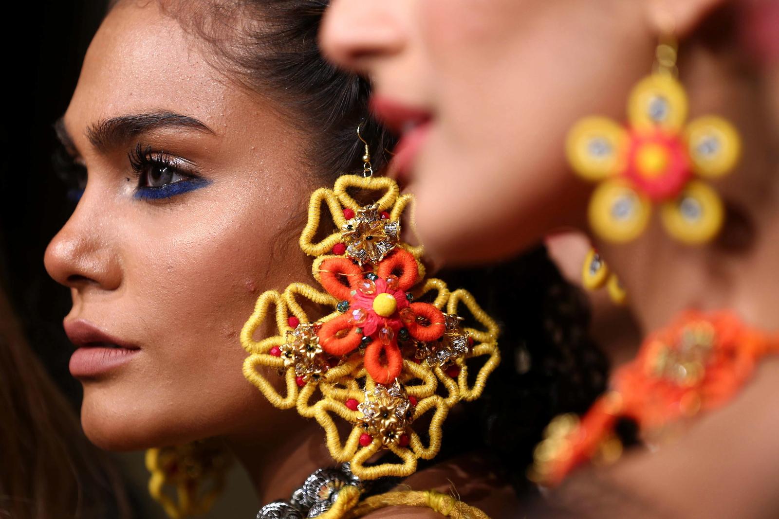 Moda w Pakistanie fot.EPA/SHAHZAIB AKBER
