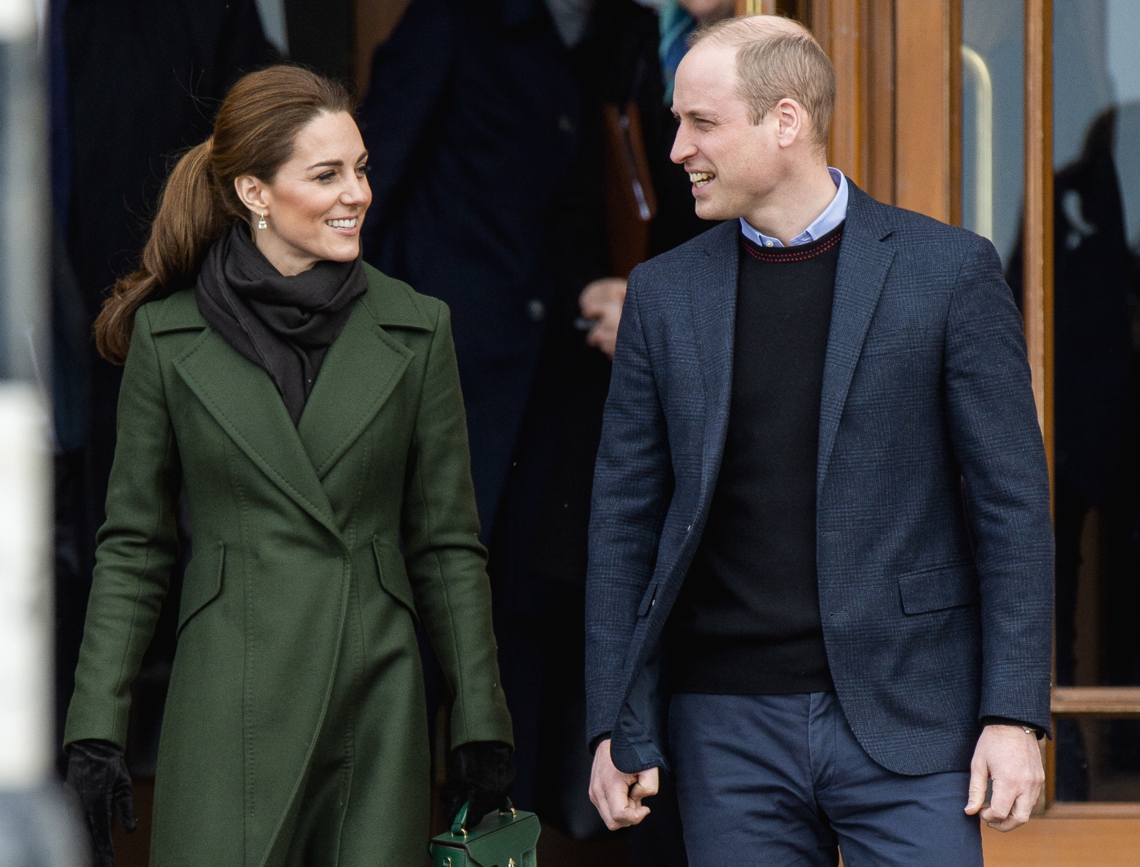 Księżna Cate i Książe William z wizytą w Blackpool. Fot. PAP/EPA/PETER POWELL