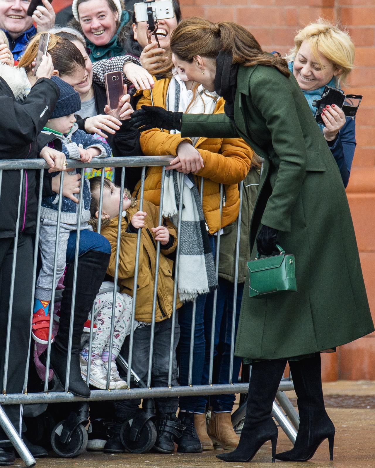 Księżna Cambridge Kate z wizytą w Blackpool. Fot. PAP/EPA/PETER POWELL