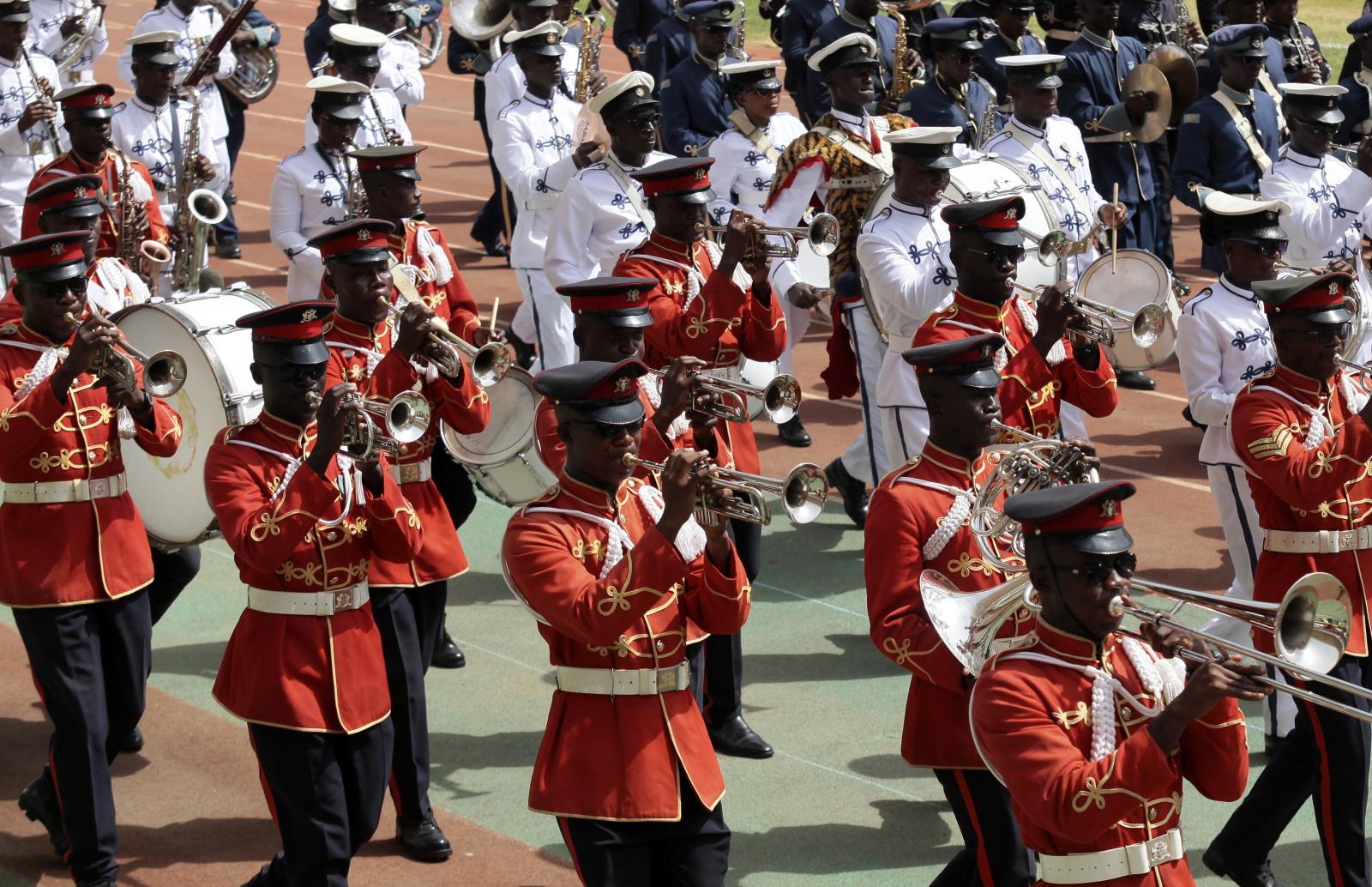 Dzień Niepodległości w Ghanie. Fot. PAP/EPA/CHRISTIAN THOMPSON