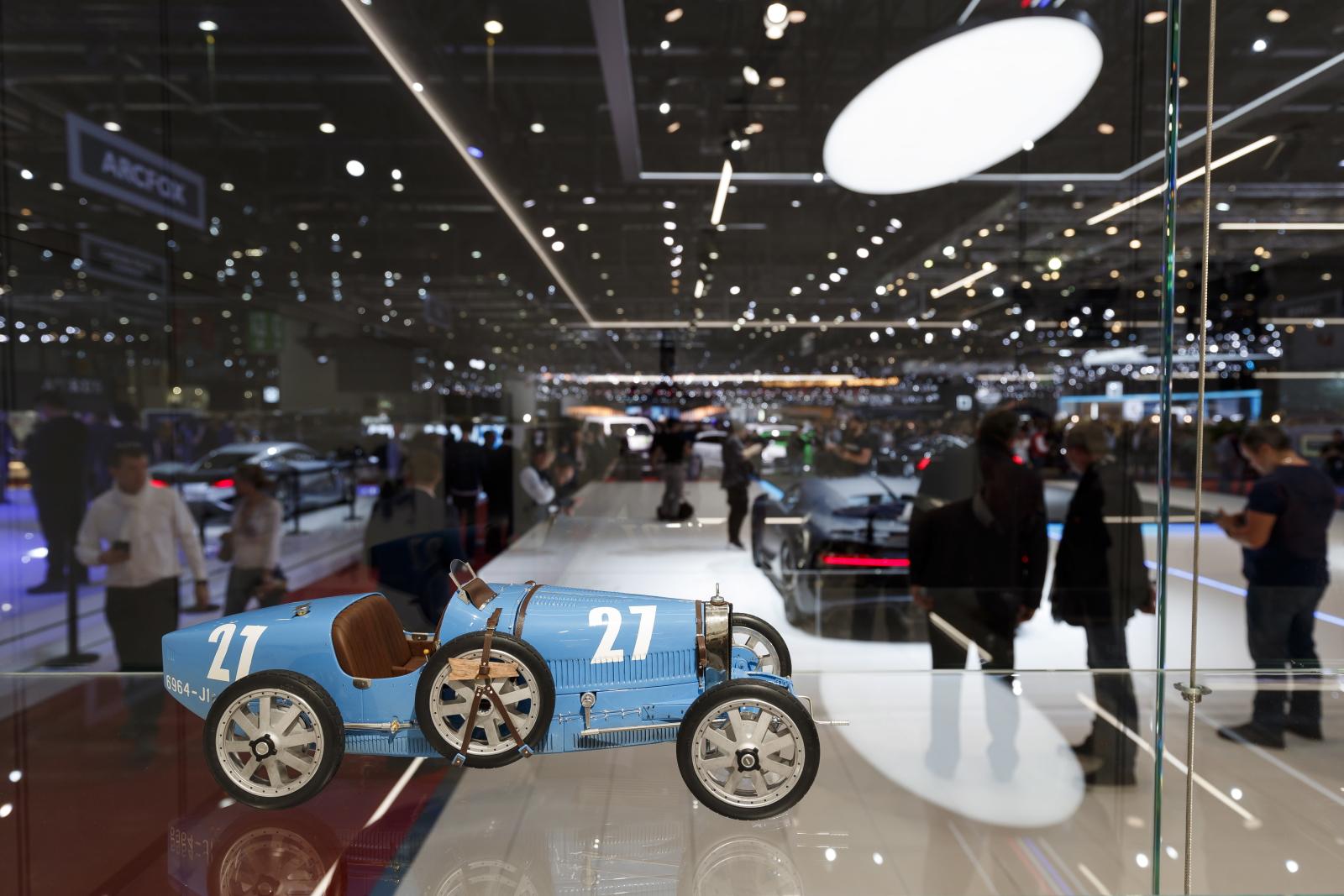 Motor Show w Genewie. Fot. PAP/EPA/CYRIL ZINGARO