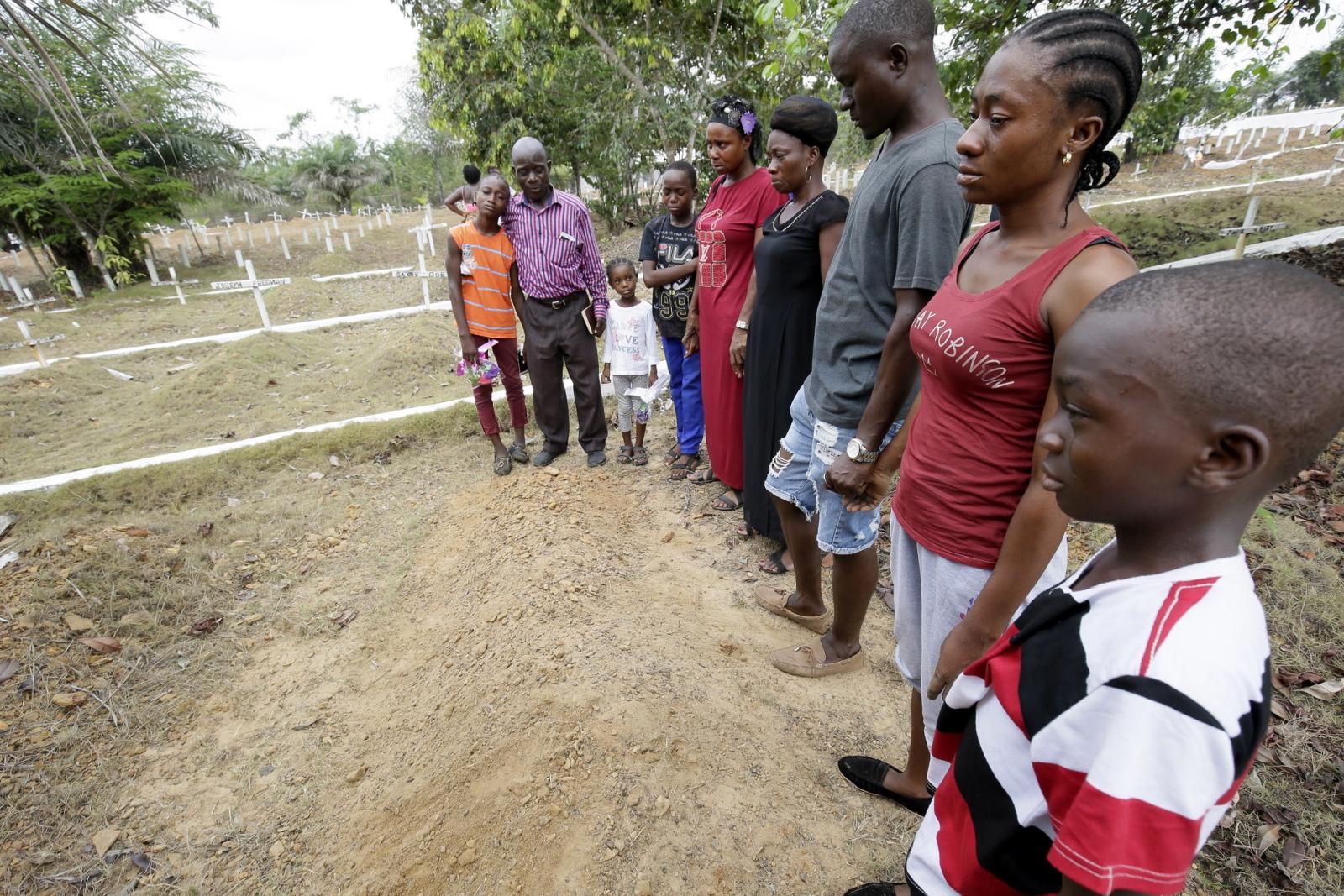 Narodowy Dzień Pamięci w Liberii. Fot. PAP/EPA/AHMED JALLANZO