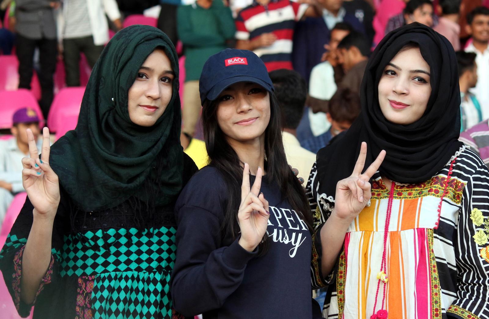 Mecz krykieta w Pakistanie. Fot. PAP/EPA/REHAN KHAN