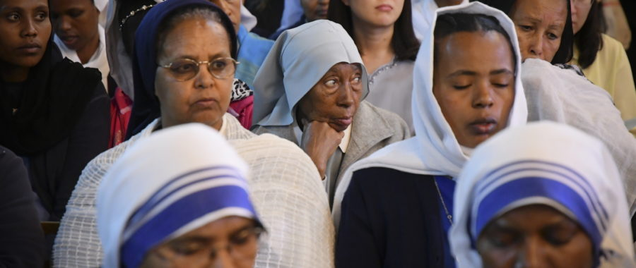 Etiopia. Żałoba po katastrofie samolotu. fot. EPA/STR