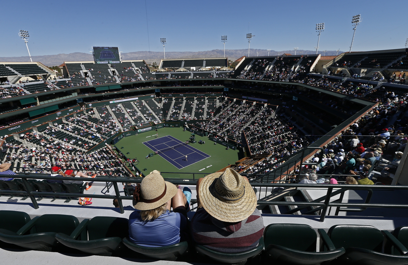 BNP Paribas Open. fot. EPA/LARRY W. SMITH