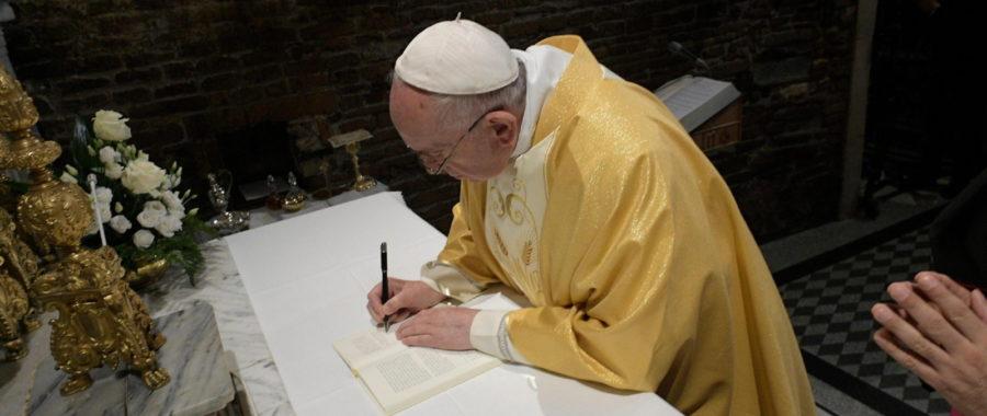 Papież w Loreto