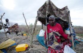 Mozambik po przejściu cyklonu. fot. EPA/TIAGO PETINGA