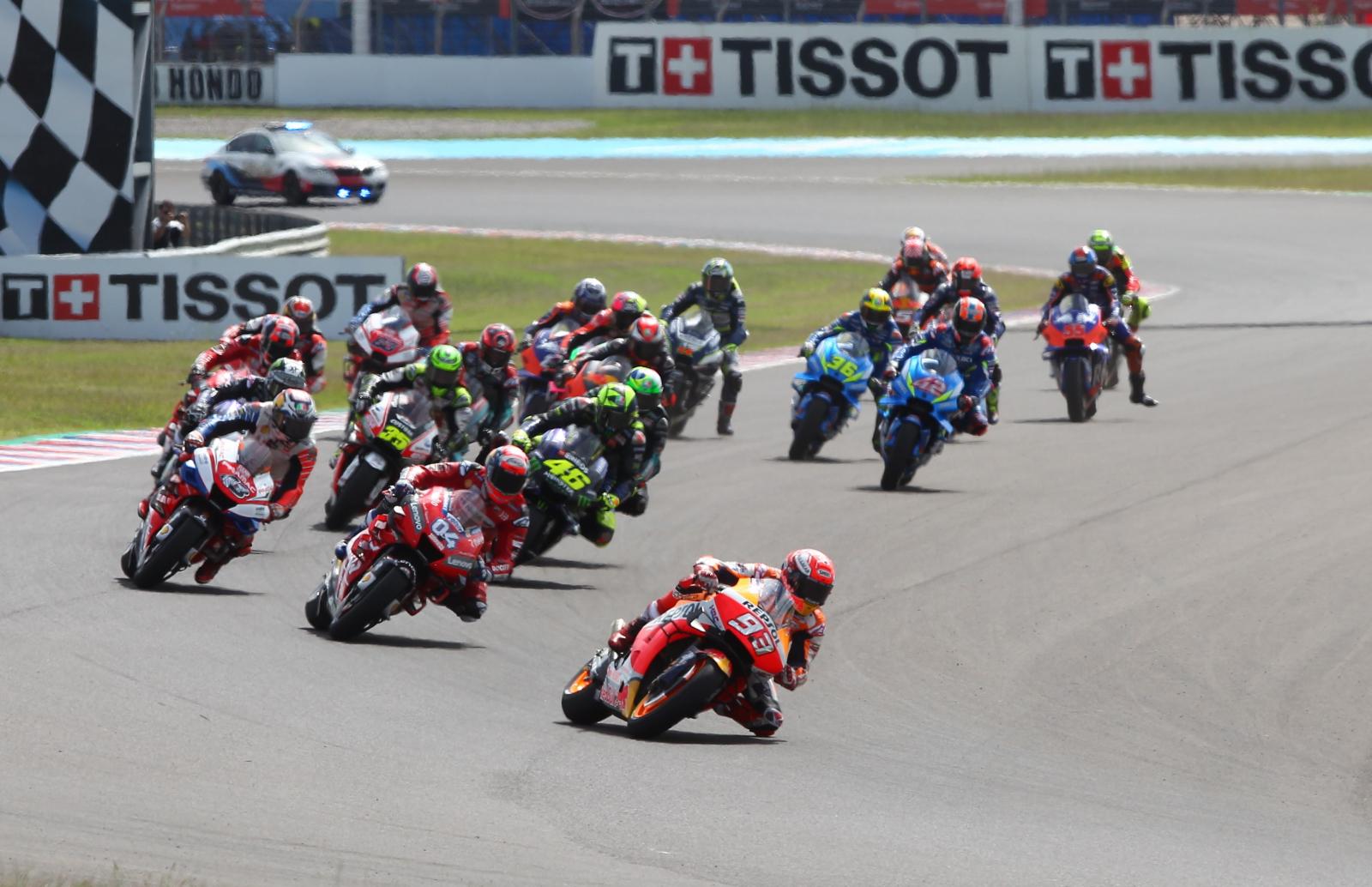 Motocyklowe Grand Prix w Argentynie. Fot. PAP/EPA/NICOLAS JIMENEZ