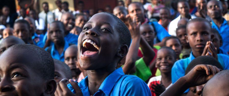 młodzież afryka