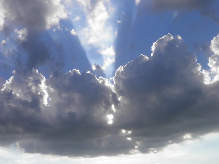 niebo Bóg
