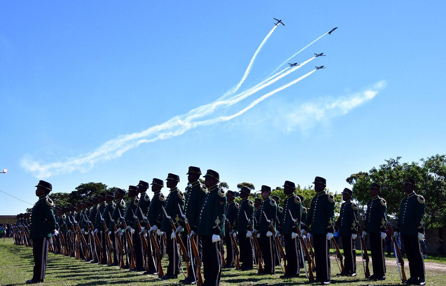 Dzień niepodległośi Afryki Południowej fot. EPA/Elmond Jiyane