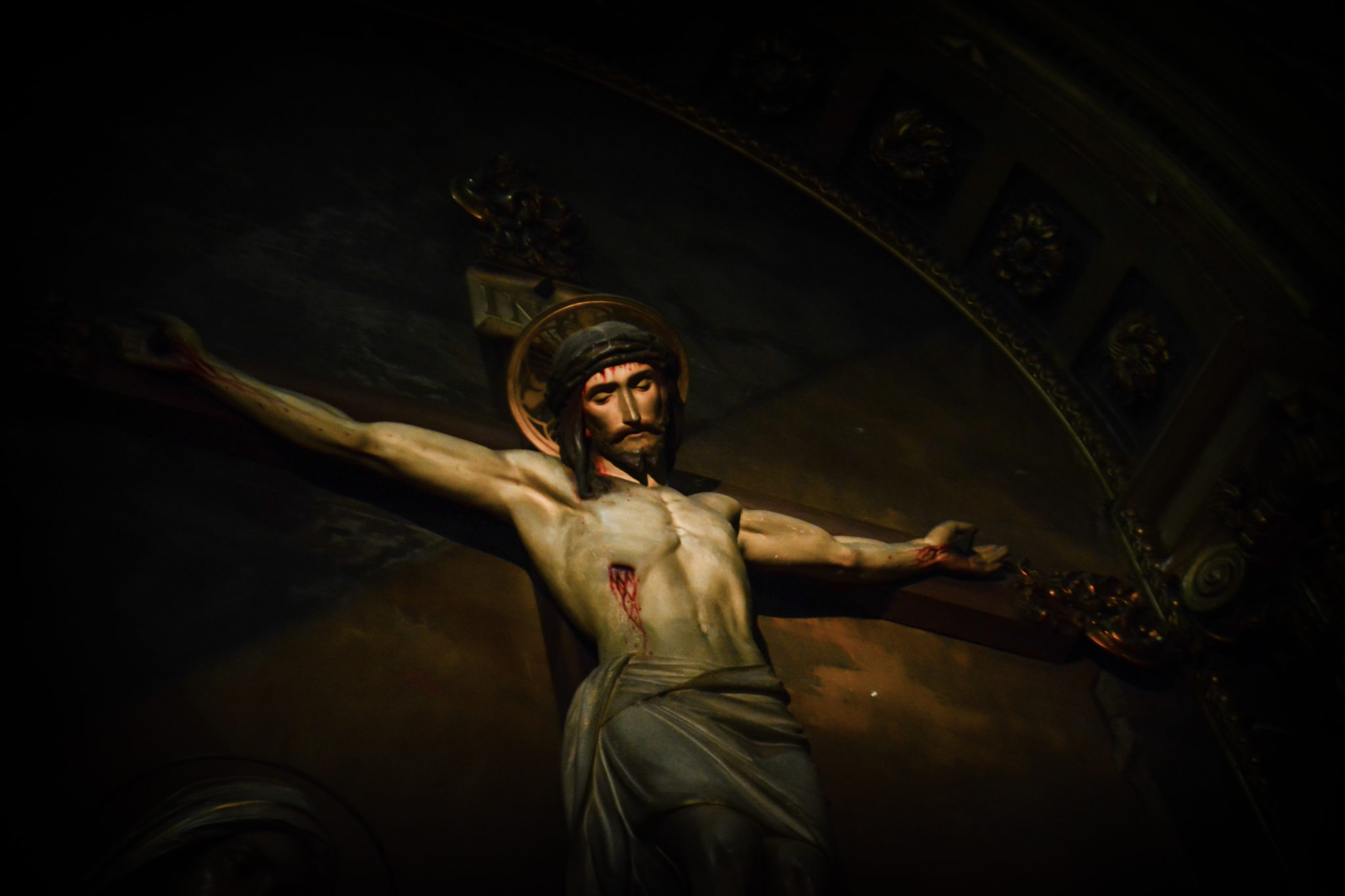 Jezus na krzyzu