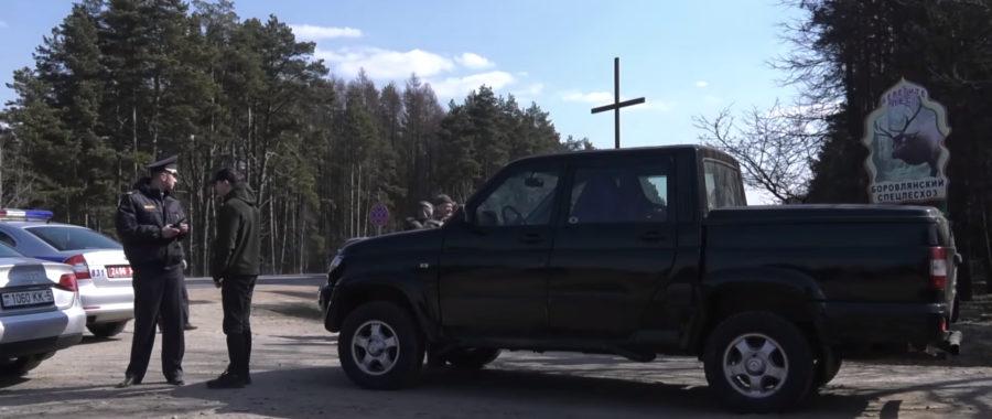 Mińsk: Buldożery na masowych grobach ofiar NKWD. Wyrwano krzyże