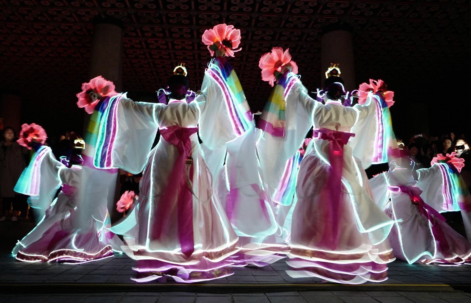 Festiwal kulturowy w Seulu, Korea Południowa. Fot. PAP/EPA/JEON HEON-KYUN