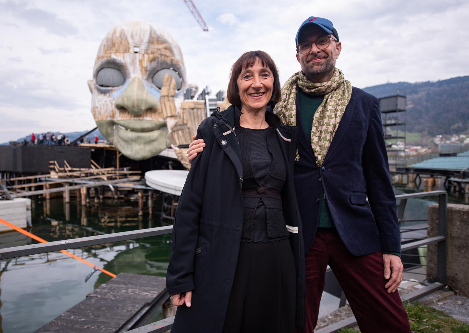 Bregenz Festival w Austrii. Fot. PAP/EPA/DANIEL KOPATSCH