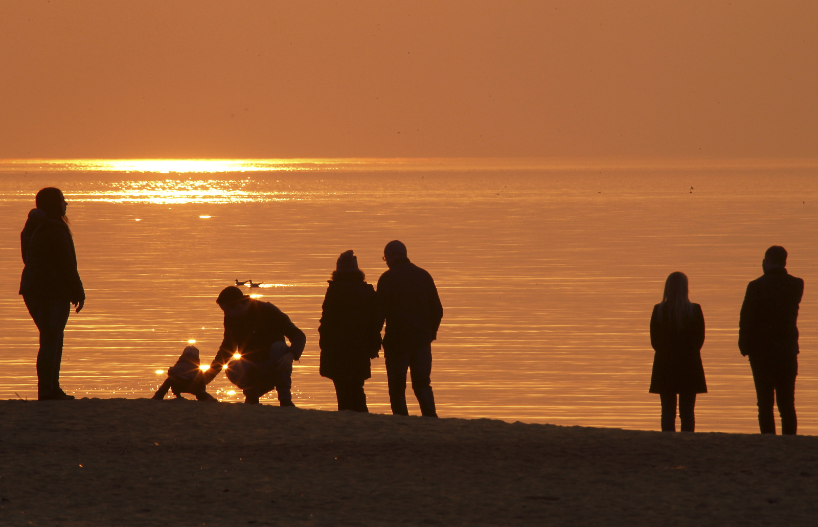 Litwa, zachód słońca  EPA/Toms Kalnins