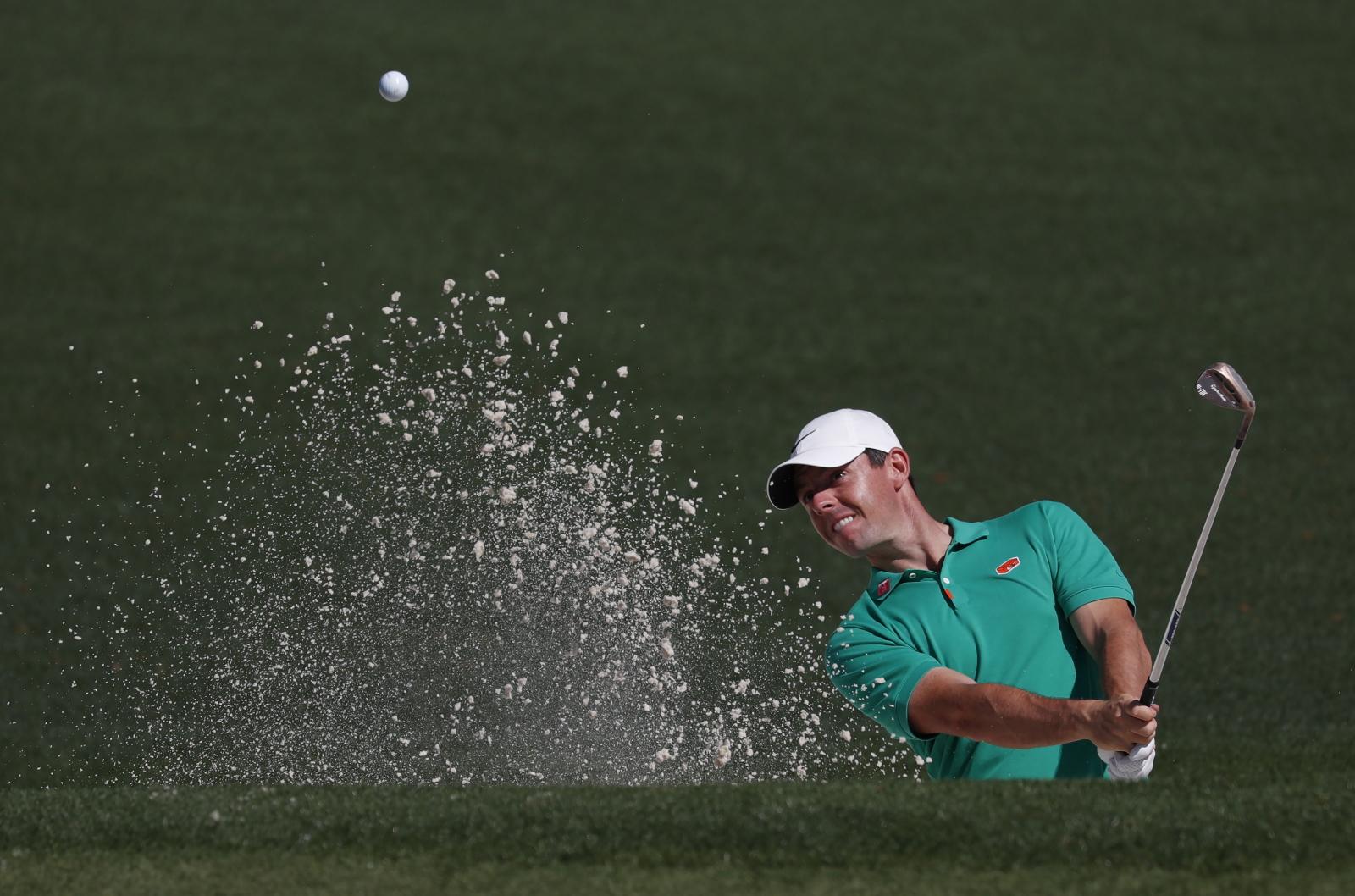 Golfista z Północnej Irlandii Rory McIlroy w Georgii, USA. Fot. PAP/EPA/JUSTIN LANE