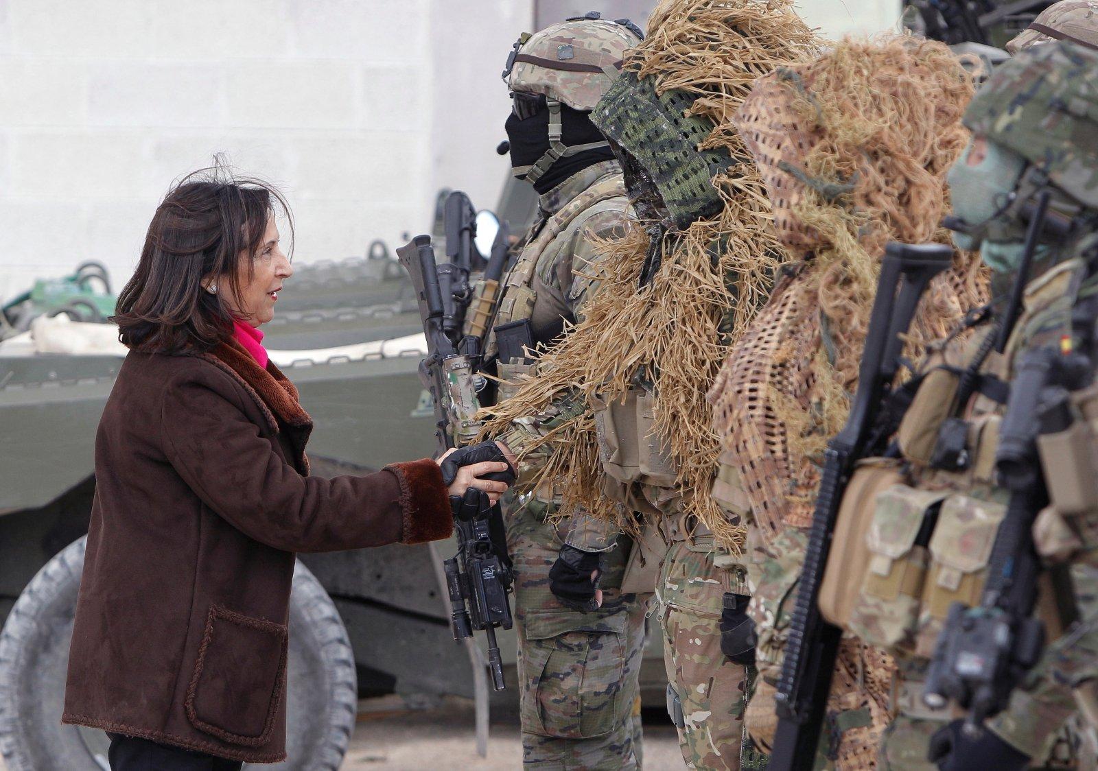 Dowództwo Operacji Specjalnych hiszpańskiej armii w Alicante, Hiszpania. Fot. PAP/EPA/MORELL