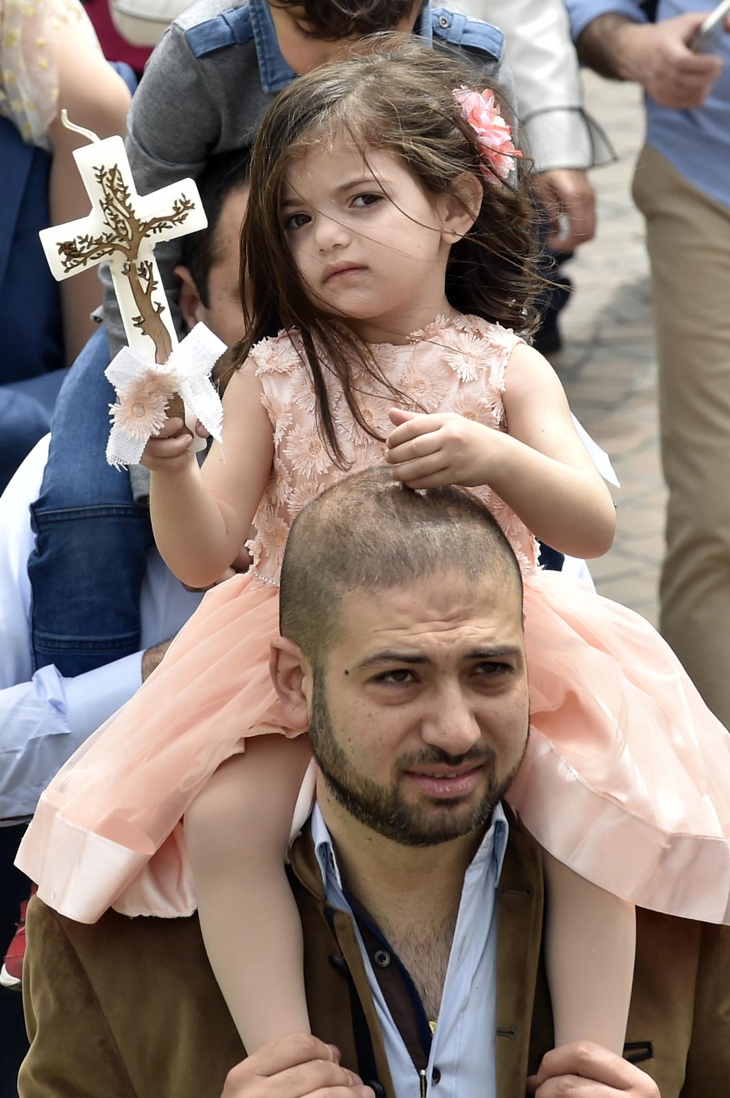 Niedziela Palmowa w Libanie/ PAP/EPA/WAEL HAMZEH