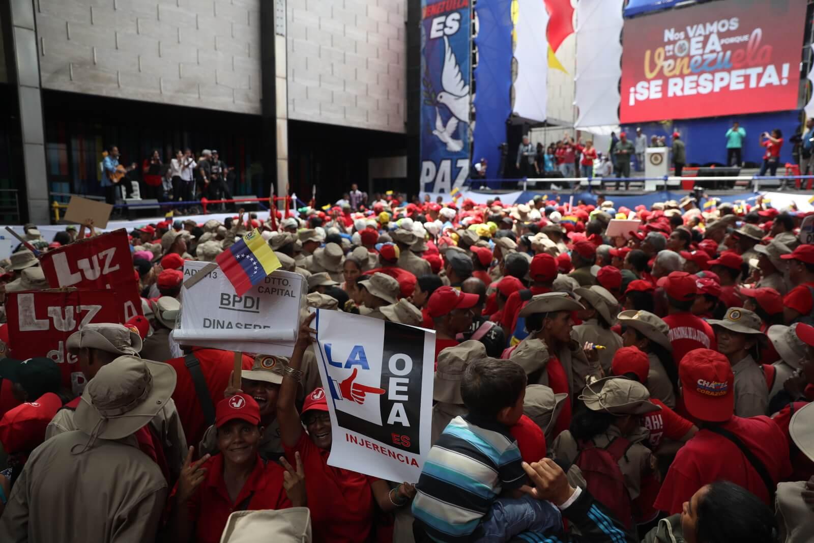 Kryzys polityczny w Wenezueli fot. EPA/Miguel Gutierrez