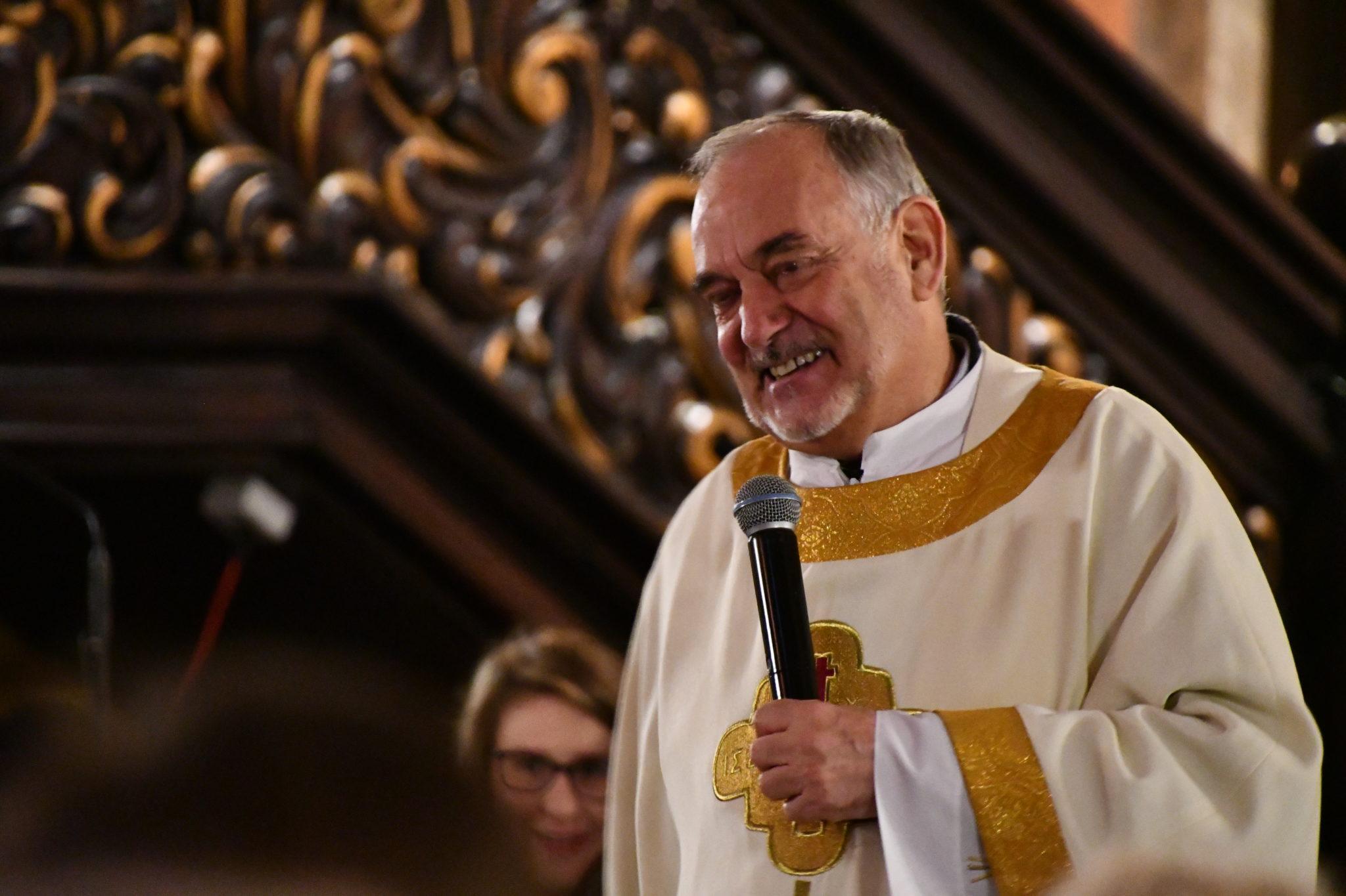 ojciec Antonello Caddedu radość przymierze miłosierdzia ewangelizacja misja Talitha Kum 2019 Poznań